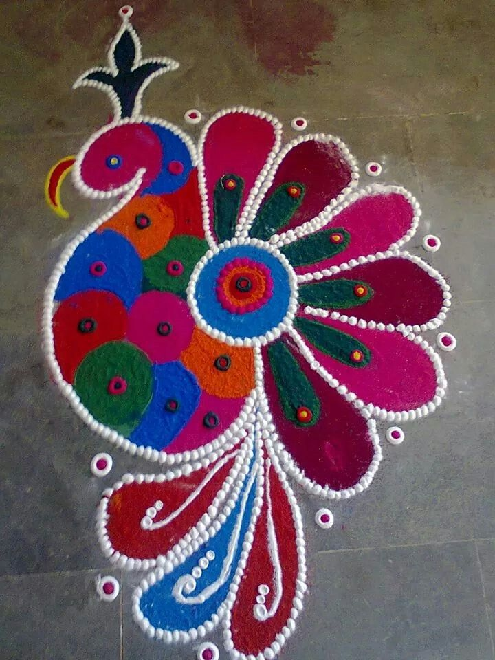 Beautiful colors Rangoli Pinterest Beautiful, Colors