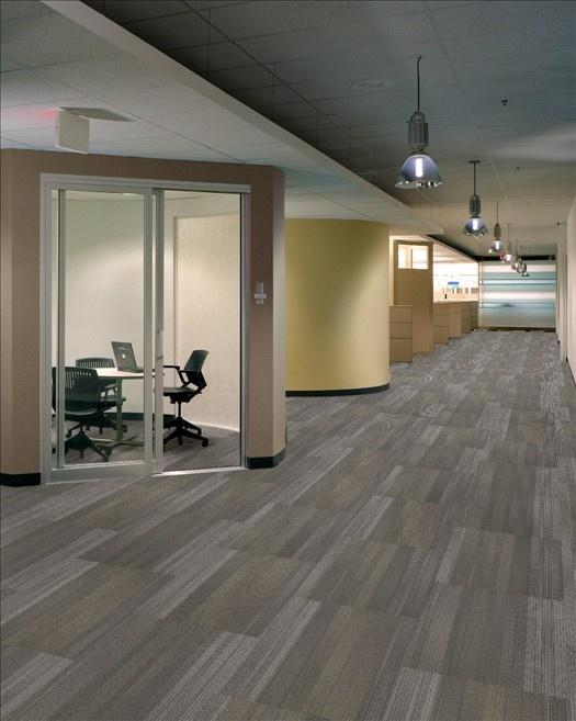 Shaw Carpet Tiles Ashlar installation Office Ideas