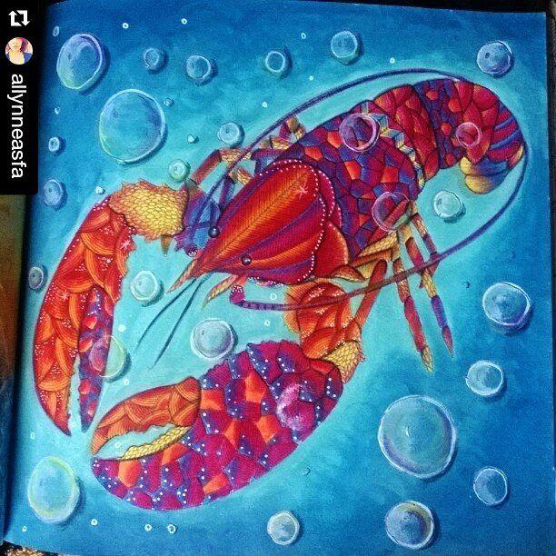 Animal Kingdom Millie Marotta Lobster