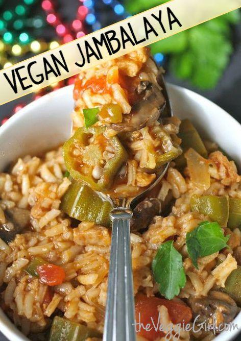 Vegan Jambalaya.