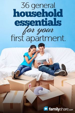 36 general household essentials for