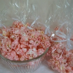 Cotton Candy Popcorn – Tastes just like cotton Candy from the fair and so fast and easy to make