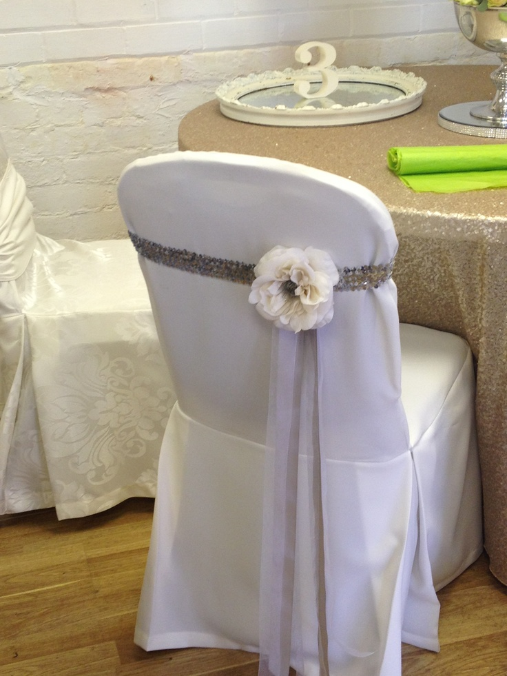 Unique Chair Covers And Simple I Like Weddings