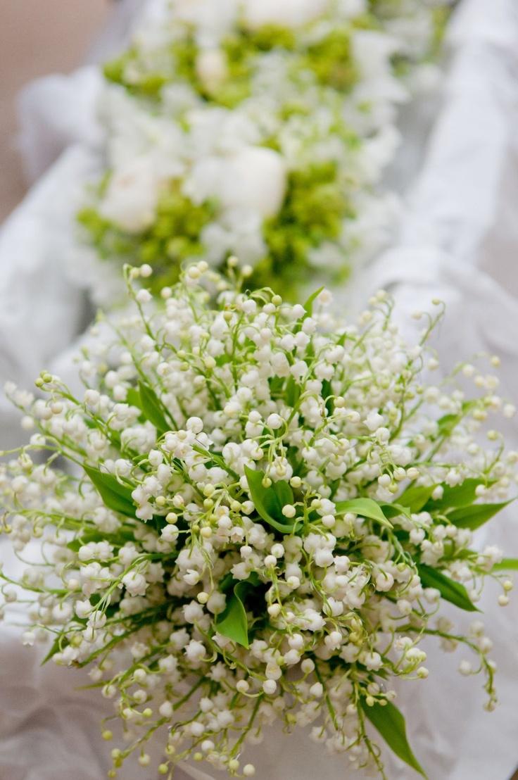 MIJN LIEVELINGSBLOEMEN Meiklokjes bruidsboeket Lily of