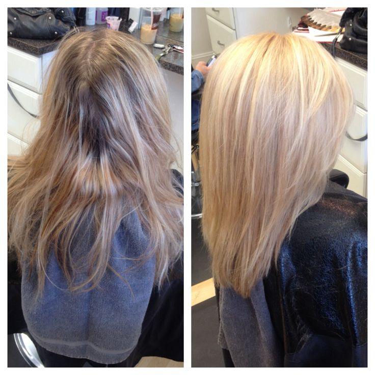 Vanilla Blonde Platinum Highlights Wella Hair Hair