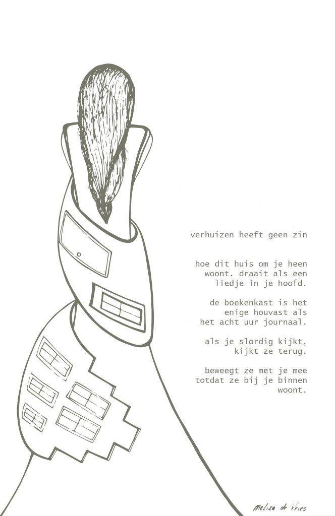 Illustratie Amp Gedicht Verhuizen Heeft Geen Zin