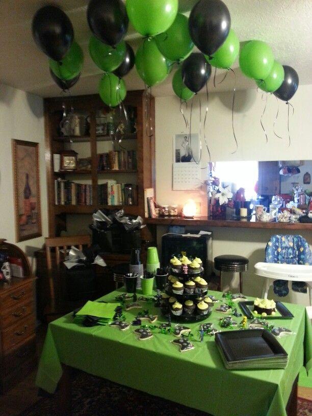 Halo Xbox Theme Themed Party Pinterest