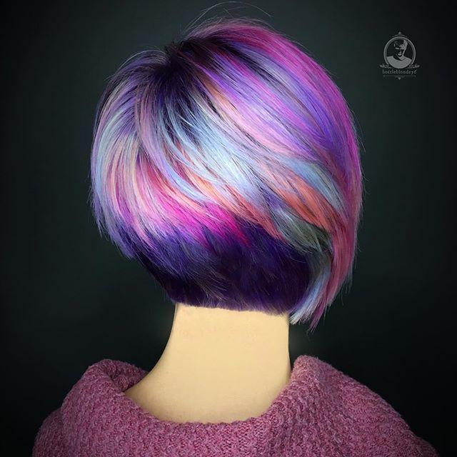 195 Best Images About Short Hair Vivid Color On Pinterest
