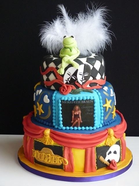 11 Best Images About Theatre Cakes On Pinterest Songs