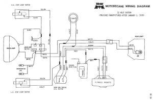 Motobecane wiring diagrams  MopedWiki | Moby | Pinterest