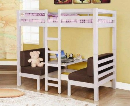 Cheap Loft Beds With Desk And Stairs Home Yumminess