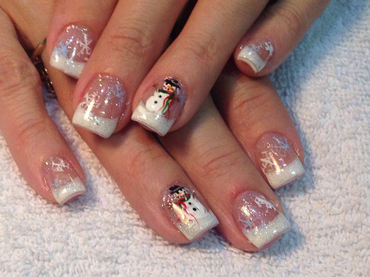 1000 Ideas About Snowman Nails On Pinterest Snowman