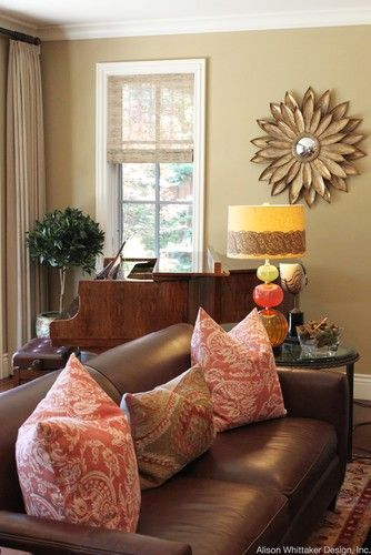 62 Best Images About Brown Sofa Decor Ideas On Pinterest