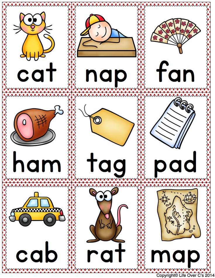 CVC words Google Search Reading Materials Pinterest