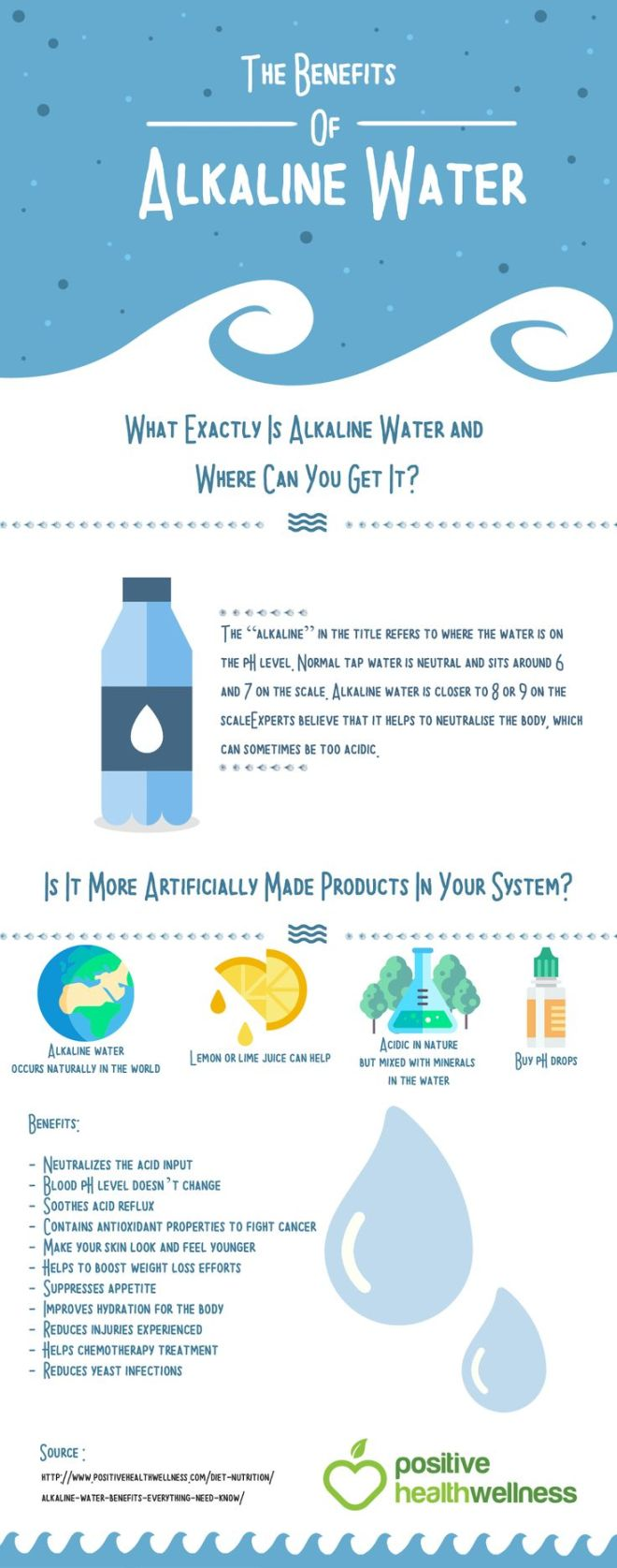 Alkaline water certainly does have numerous health