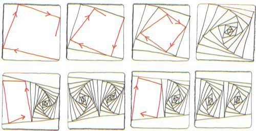 Zentangle Patterns Step By Step Original Zentangle