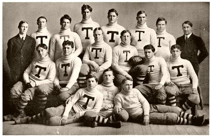 University of Texas Football Team, 1904.... Vintage