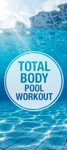 Here are 6 fabulous fitness exercises that you can do while youre in the pool! Check them out for your total body