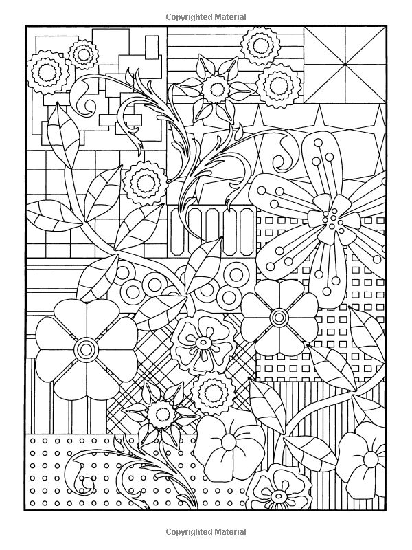 flower designs coloring and dovers on pinterest
