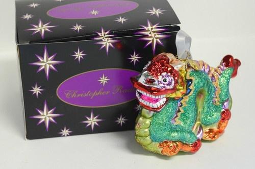 Christopher Radko RARE Year Of The Dragon Chinese