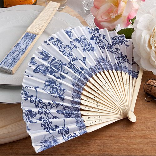 Wooden Hand Fans - Useful Wedding Gift