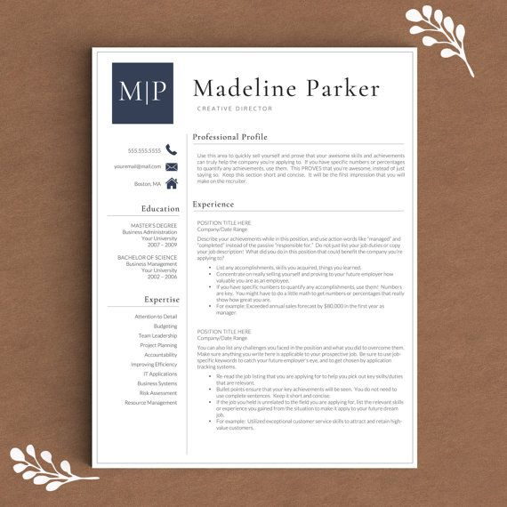 1000 ideas about resume templates for word on pinterest cv