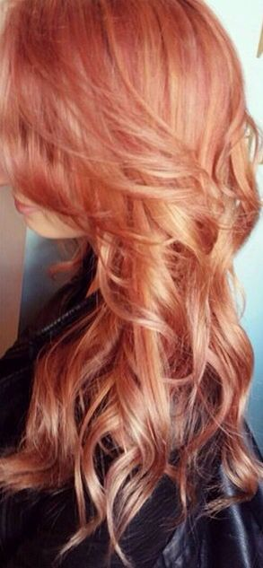 Hair Color Inspiration And Formulation Copper Rose