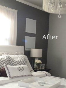 No Doubt This Room Is Too Y But The Gray Walls Are A Nice Color With White Trim And Light Ceiling Could Be Good For Guest Bedrooms