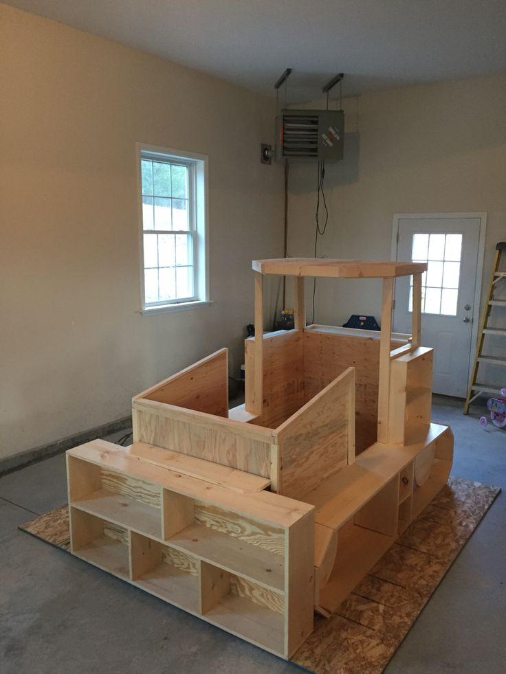 Bulldozer Bed Before Paint Bulldozer Bed Pinterest