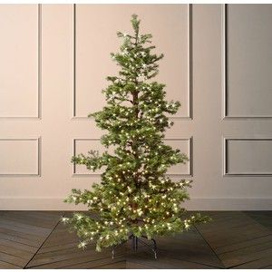 Starlit Faux Shasta Fir Tree With Illuminate Technology