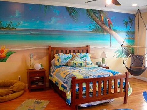 Surf Style Girl Bedroom - Google Search