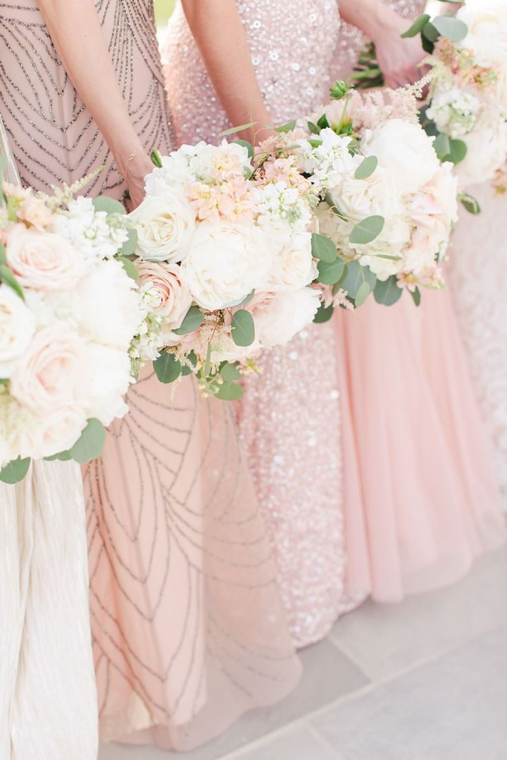 A Grey, Navy, Blush, Ivory and Lace Inspired Spring Wedding at Shadow Creek Weddings and Events by Kat