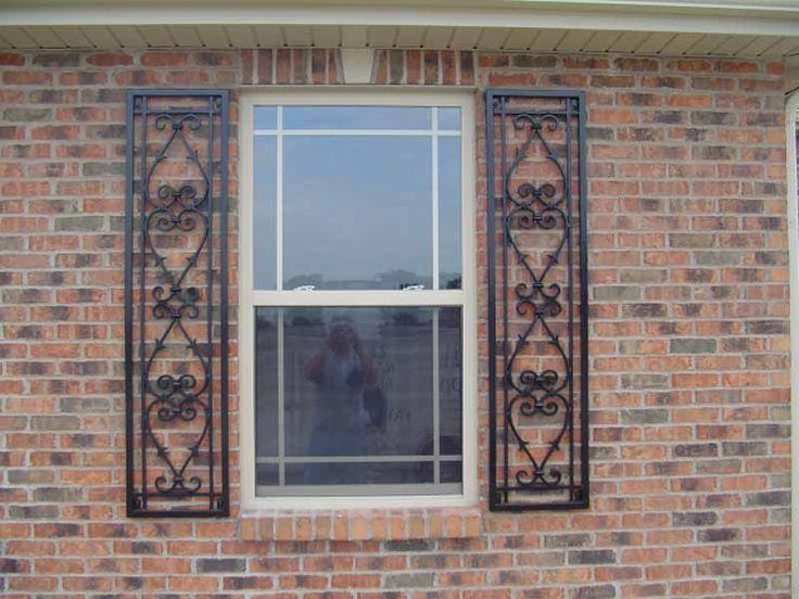 Decorative Shutters (wrought Iron)