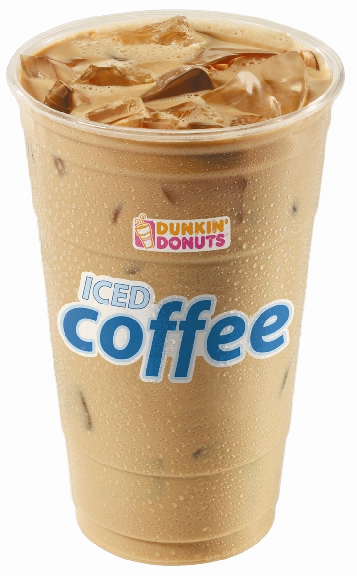 Mocha Iced Coffee from Dunkin Donuts FOOD Pinterest