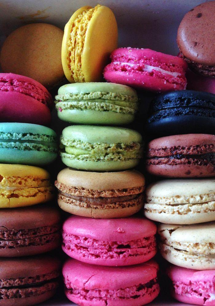 Bright Macarons Inspiring Us Pinterest Macaroons