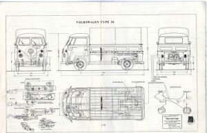 1965 VW Type 26 | Plans (Trucks) | Pinterest | Buses