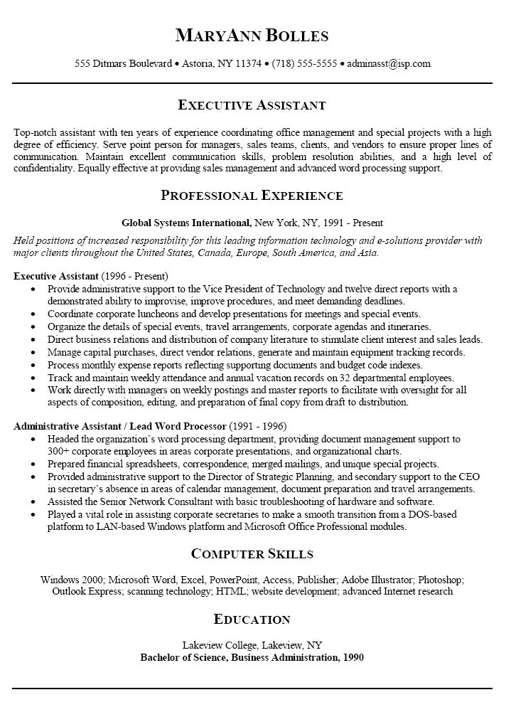 Administration Assistant or as we familiar to secretary is