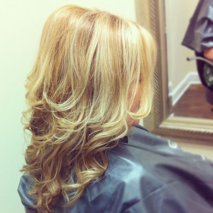 Golden Blonde With Balayage Highlights Best Tresses
