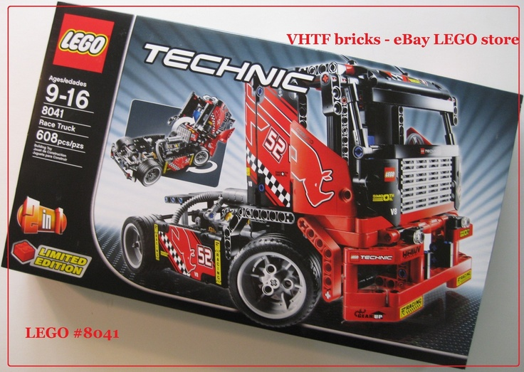 LEGO Technic 8041 Race Truck 2 in1 car Limited Edition