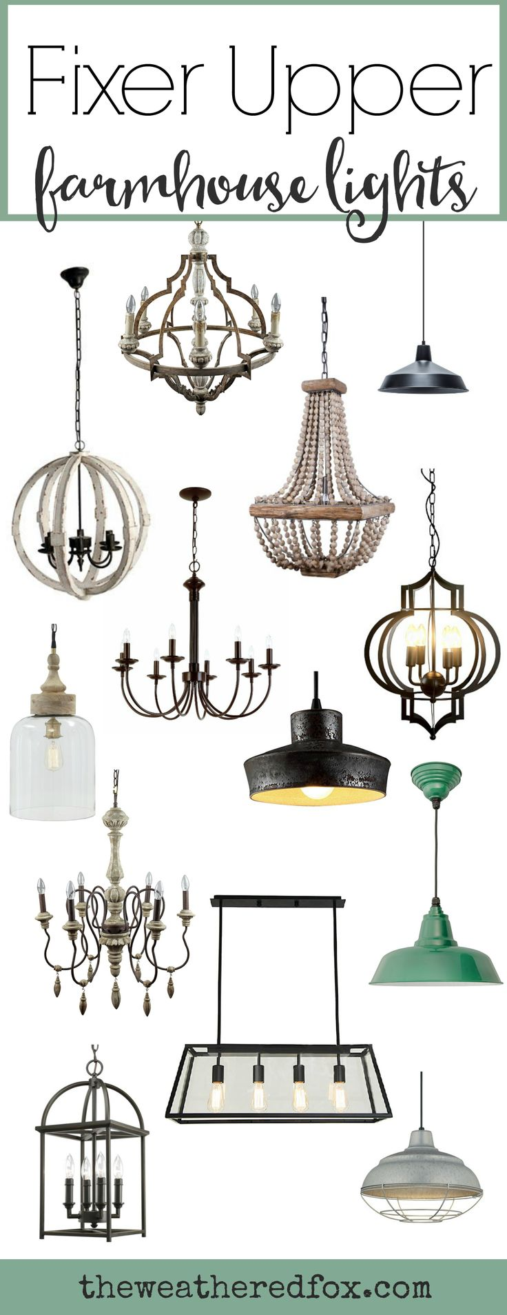 French Country Mini Pendant Lighting