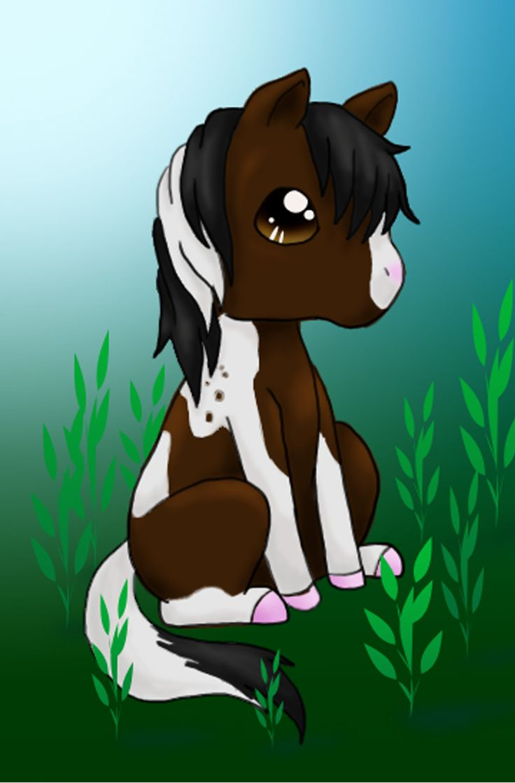 Chibi Horse Chibi Pinterest Chibi And Horses