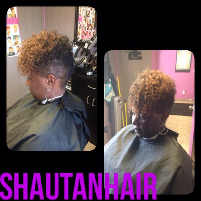 A Mohawk Taper Cut With Low Sides Tapered Mohawk Styles