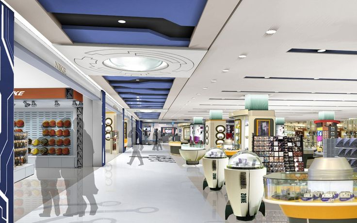 Renderings Of Strip Shopping Centers