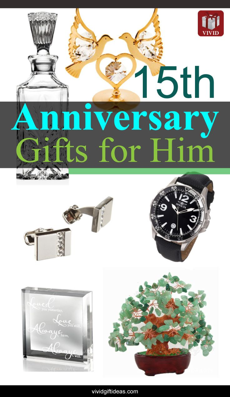 15th Wedding Anniversary Gift Ideas for Men Gifts for