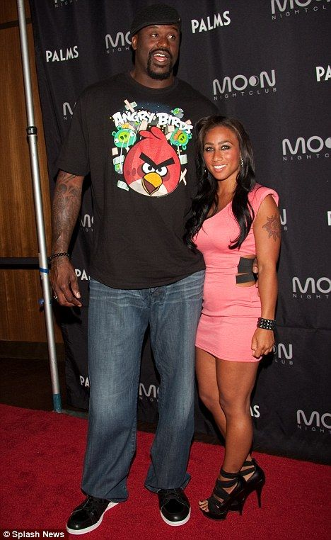 Shaquille ONeal And Fiance Nicole Hoopz Alexander Call