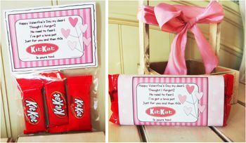 Valentine Candy Sayings Kit Kat Valentines Day Ideas