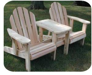 Double Adirondack Glider Plans WoodWorking Projects Amp Plans
