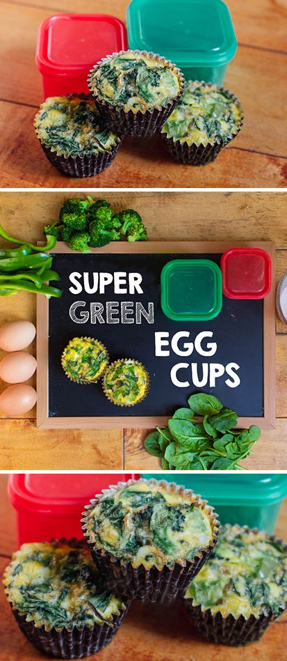 21 Day Fix and Popeye-approved, this egg cup recipe is loaded with three types of green vegetables. Wanna go really crazy?