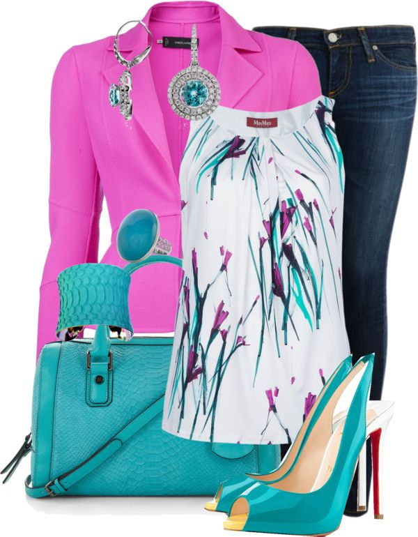 """""""Pink Blazer"""" by glamatarian on Polyvore"""