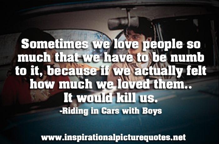 Riding In cars with boys Picture Quotes Pinterest